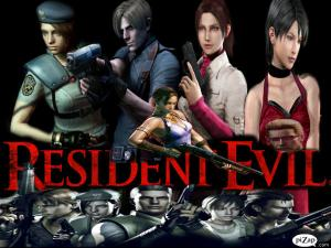 Resident Evil Personajes By Residentevilsh.wordpress.com